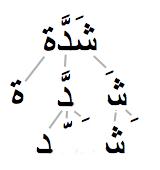 Разбиение двунаправленого текста с диакритиками