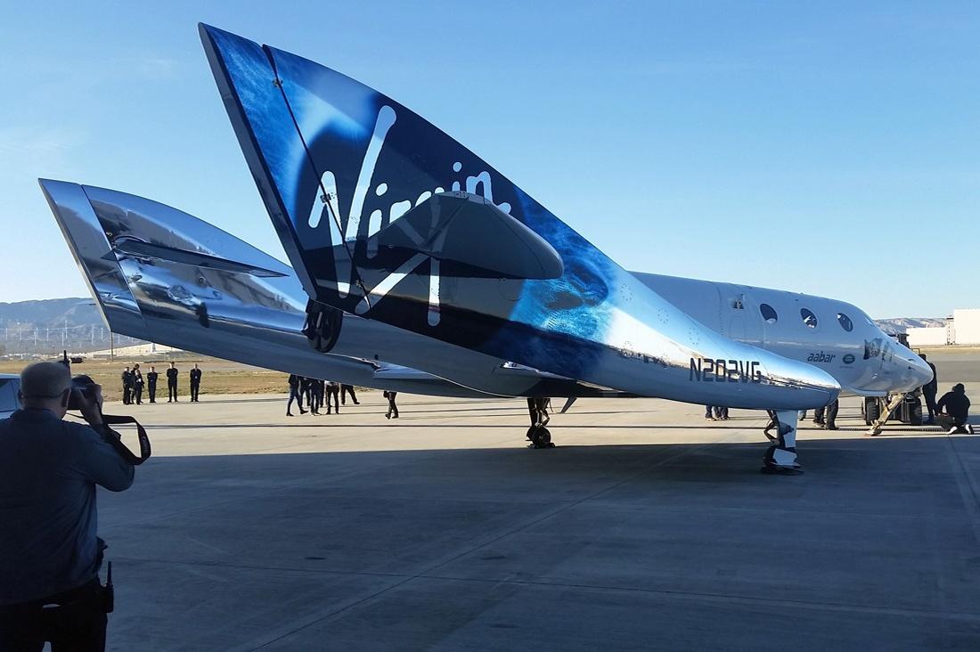 Возрожденный SpaceShipTwo - 1