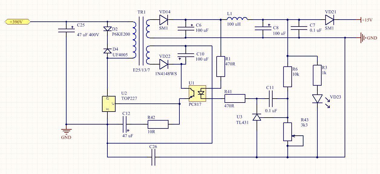 Полная схемотехника активного ККМ и зарядного устройства для ИБП 3 кВт - 1