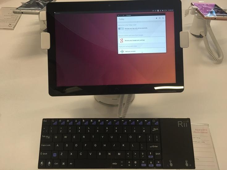 На MWC 2016 показали планшет BQ Aquaris M10 Ubuntu Edition