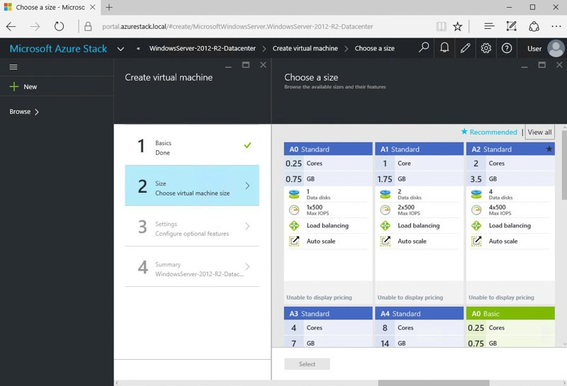 Обзор возможностей Azure Stack Technical Preview 1 - 10
