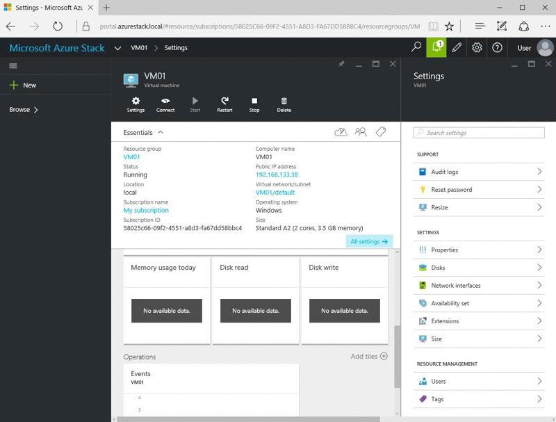 Обзор возможностей Azure Stack Technical Preview 1 - 13