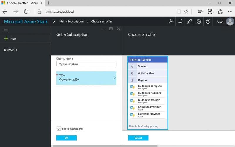 Обзор возможностей Azure Stack Technical Preview 1 - 8