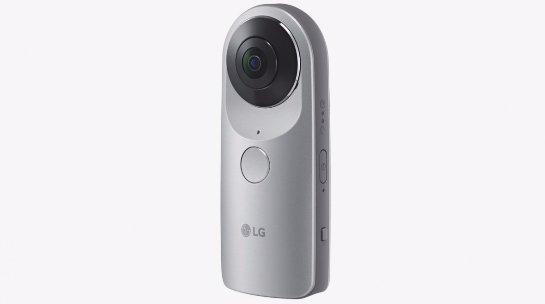 Состоялась презентация камеры LG 360 Cam
