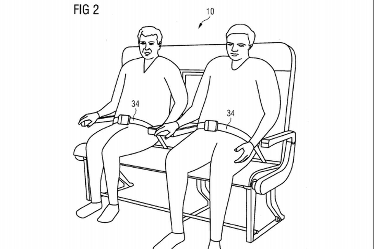 Airbus хочет усадить авиапассажиров на скамейки - 1