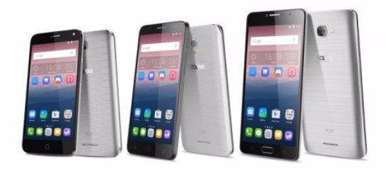 Alcatel анонсировала три новых смартфона