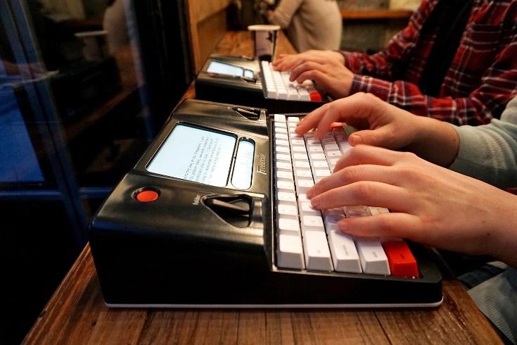 Устройство Freewrite Smart Typewriter стоит $550