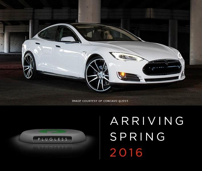 Plugless Power разработала беспроводную зарядную станцию для Tesla Model S