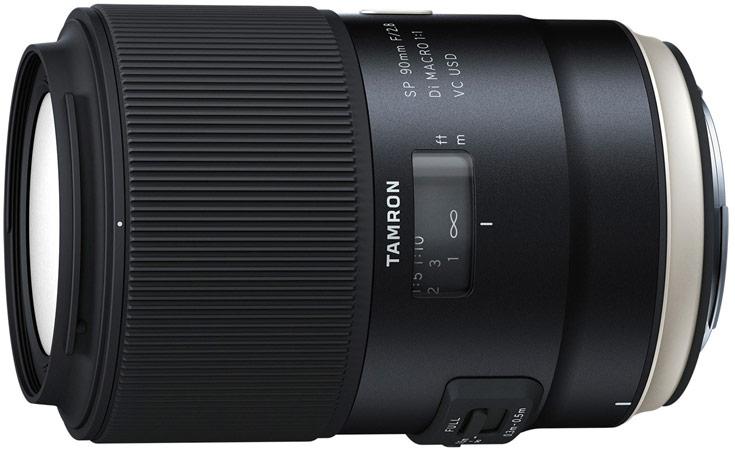 Продажи объективов Tamron SP 90mm F/2.8 Di MACRO 1:1 VC USD (F017) должны начаться в марте по цене $649