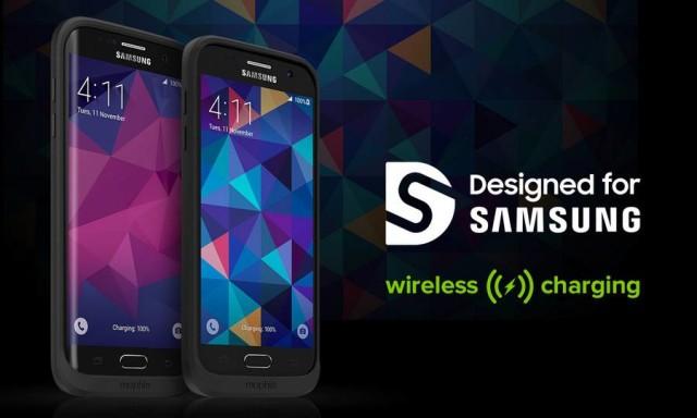 Mophie представила чехлы с аккумуляторами для смартфонов Samsung Galaxy S7 и Galaxy S7 edge