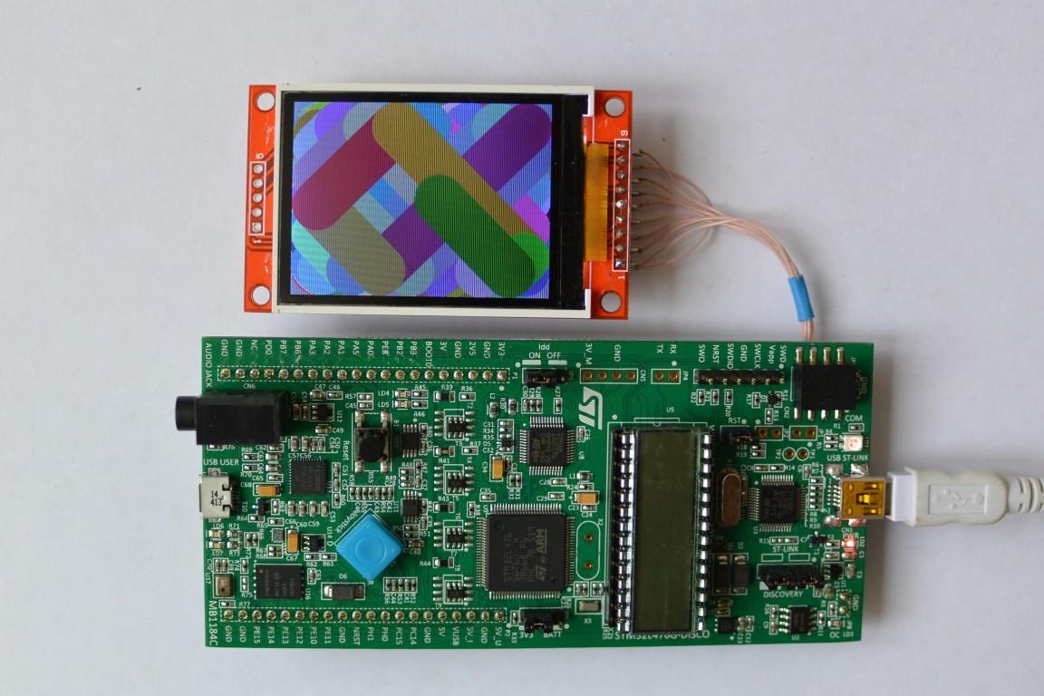 Использование mbed кода в собственном проекте на STM32 — опыт разгона китайского LCD - 1