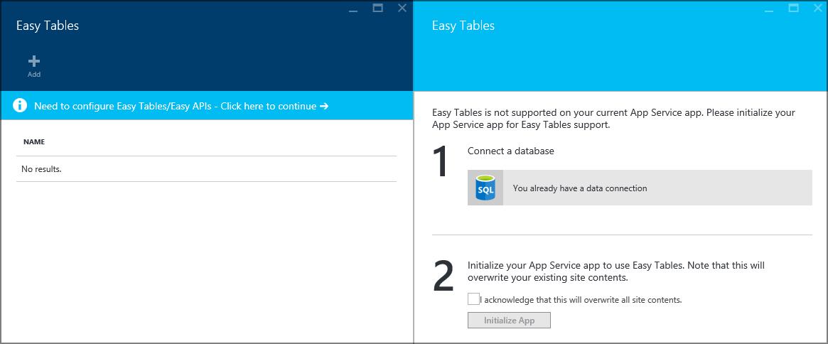 Приложение Windows 10 с данными в облаке с помощью Azure Mobile Apps - 11