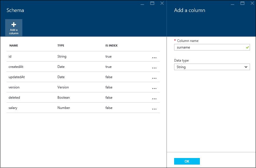 Приложение Windows 10 с данными в облаке с помощью Azure Mobile Apps - 14