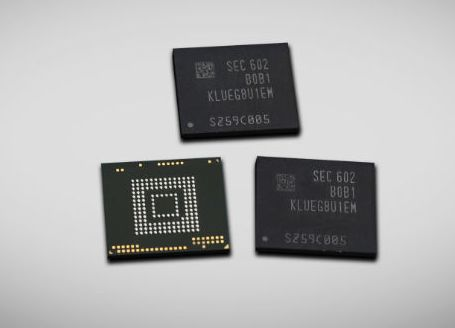 Samsung представил скоростные чипы памяти объемом в 256 ГБ для планшетов и смартфонов - 1