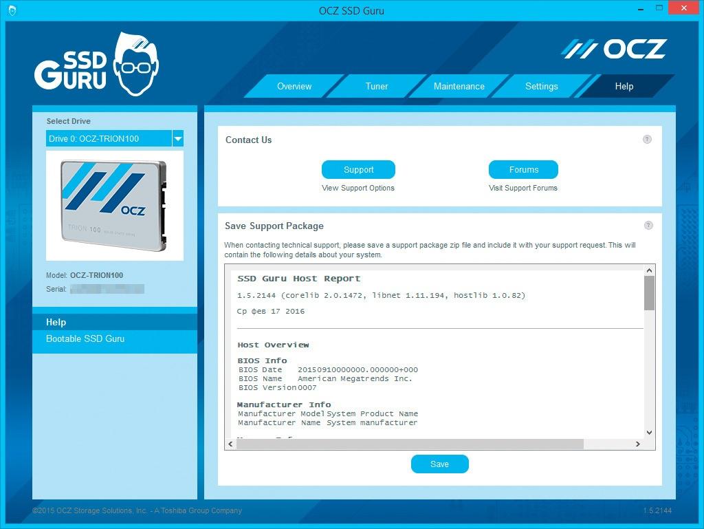 Обзор SSD-накопителя OCZ Trion 100 - 22