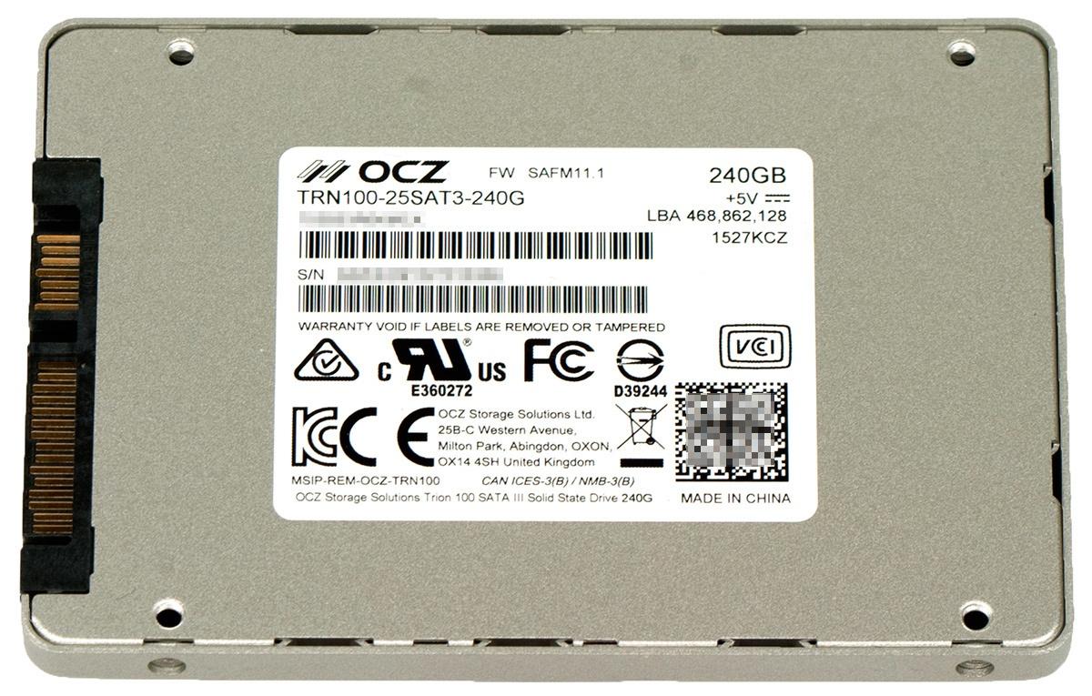 Обзор SSD-накопителя OCZ Trion 100 - 4
