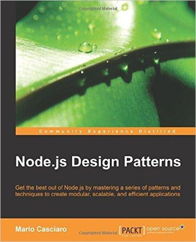 Node.js. Паттерны проектирования и разработки - 1