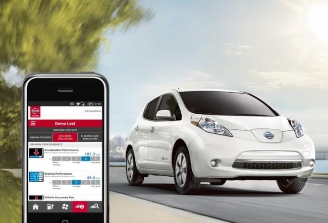 Автомобилем Nissan Leaf можно было управлять через интернет, зная его VIN - 1