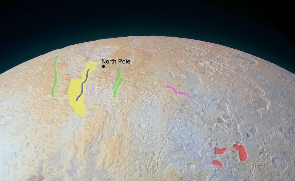 Новые фото от New Horizons: ледяные каньоны Плутона - 2