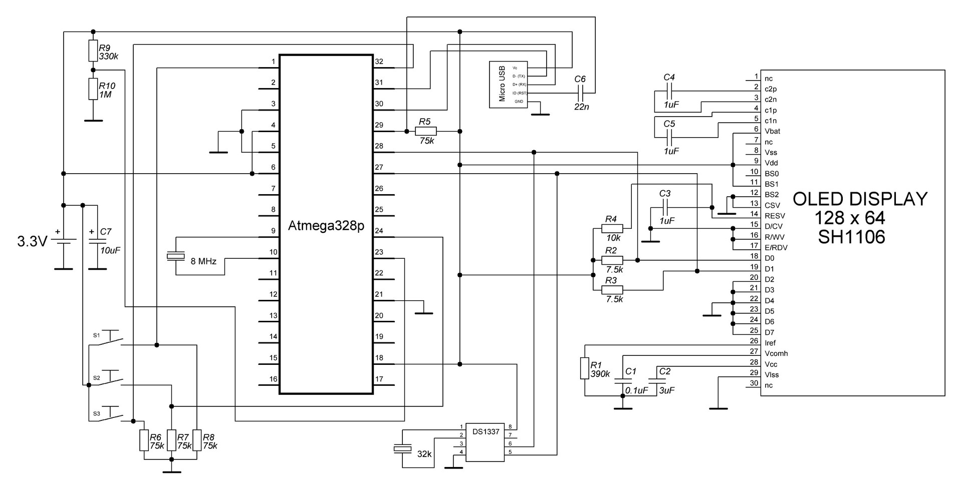 Arduino DIY Watch — самодельные часы на Arduino - 4
