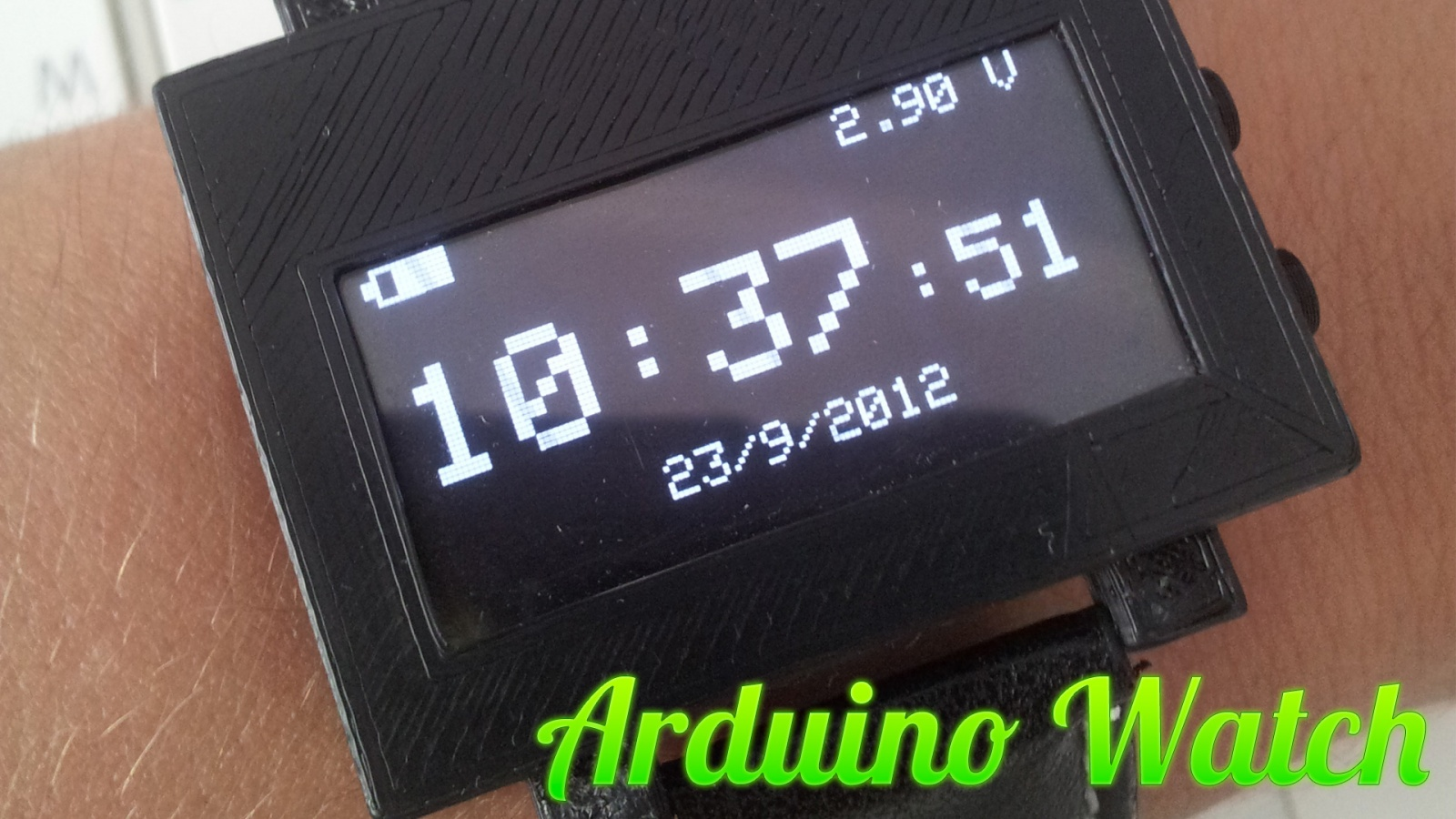 Arduino DIY Watch — самодельные часы на Arduino - 1