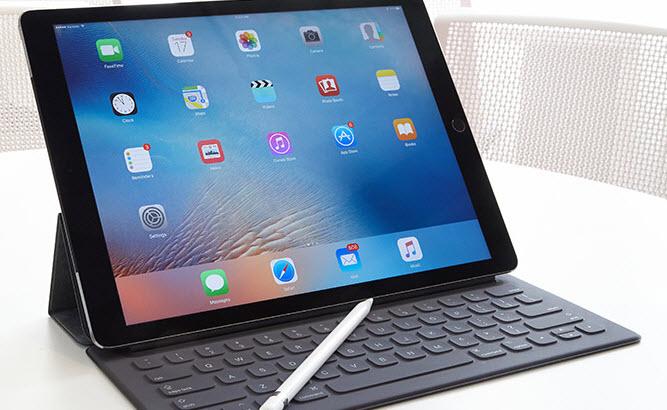 На мартовской пресс-конференции Apple также ожидается анонс планшета iPad Pro с дисплеем диагональю 9,7 дюйма