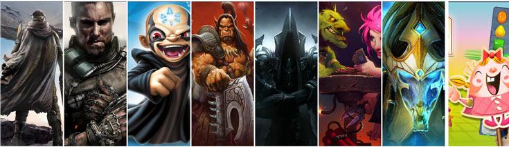 В этом году Activision Blizzard рассчитывает на доход в размере 6,25 млрд долларов
