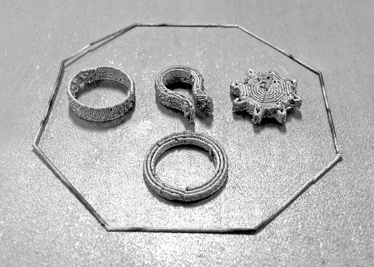 В одном изделии можно комбинировать несколько металлов