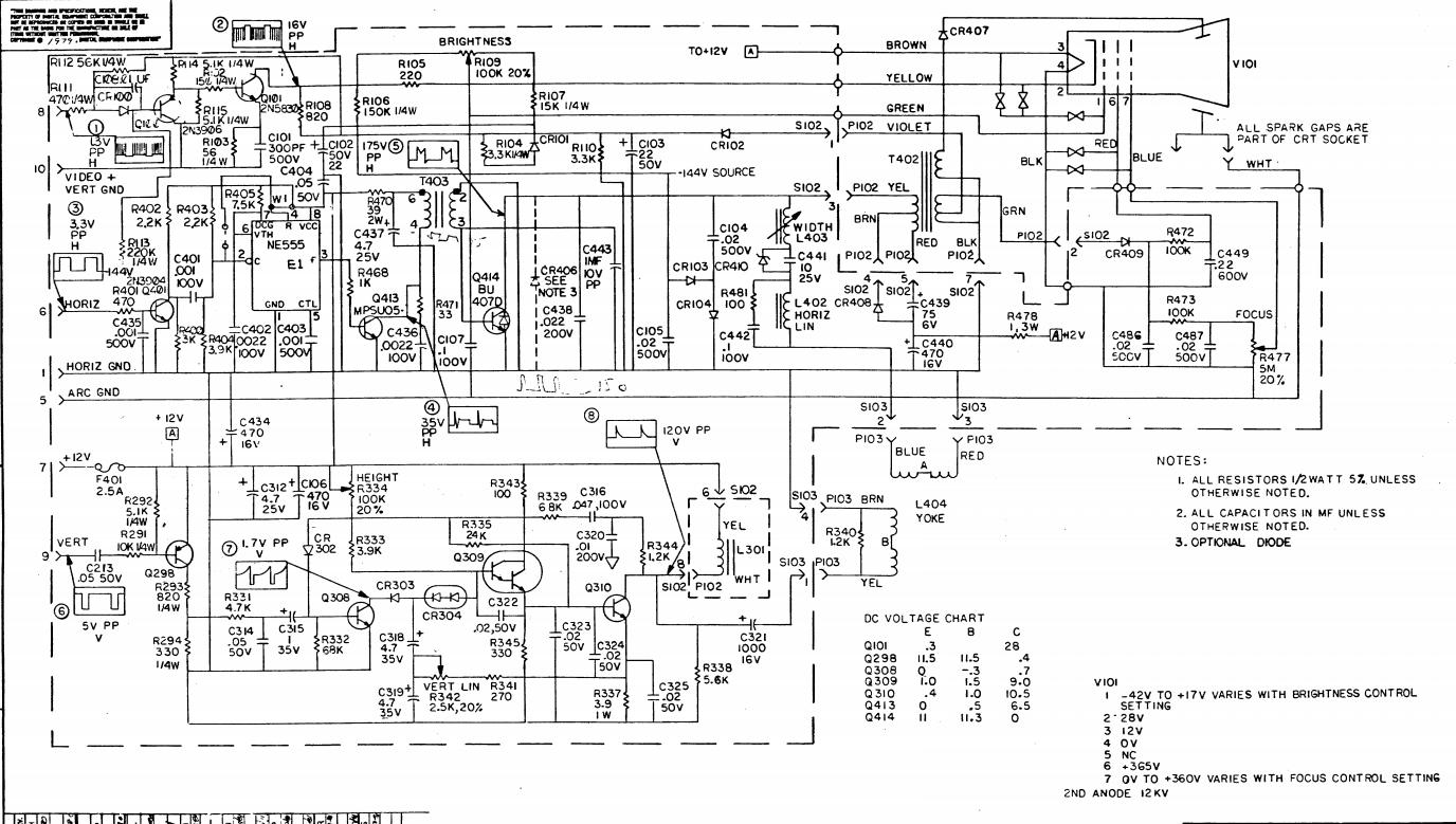 Приводим в чувство каноничный DEC VT100 - 7