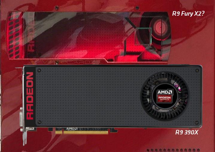 Сравнение с моделью Radeon R9 390X показывает, что новая 3D-карта короче