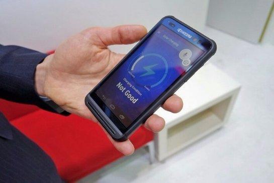 Представлен смартфон на солнечных батареях