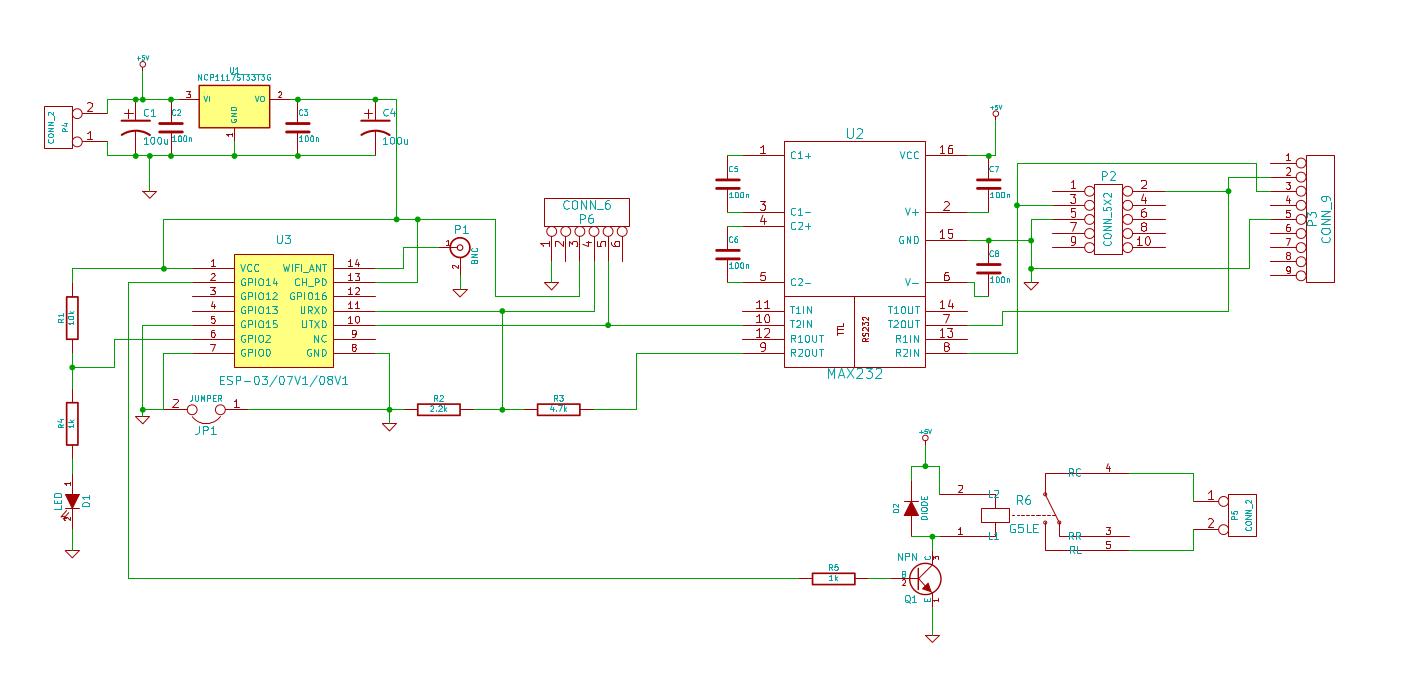 Терминал для домашнего Linux сервера на базе ESP8266 - 2