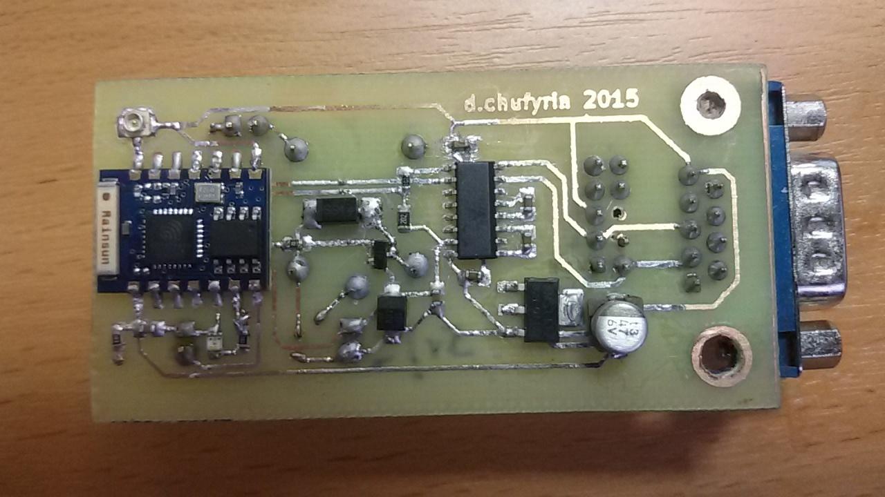 Терминал для домашнего Linux сервера на базе ESP8266 - 4