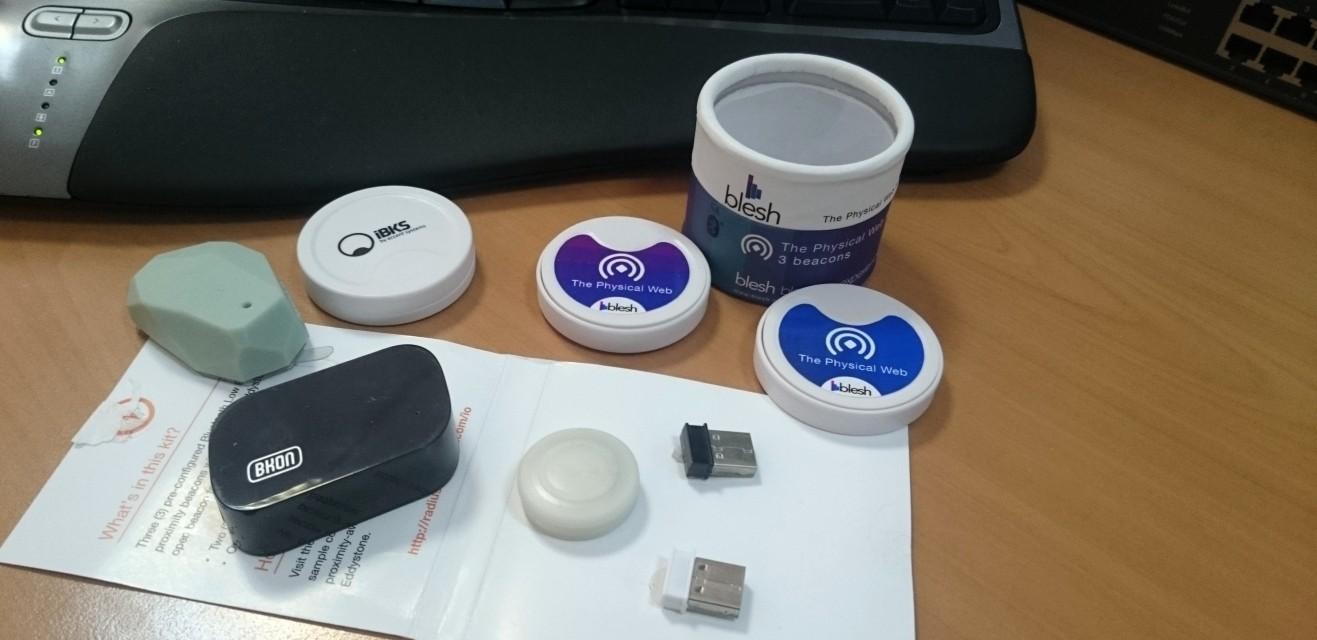 Physical web. Bluetooth маячки. Eddystone. Google's beacon platform - 4
