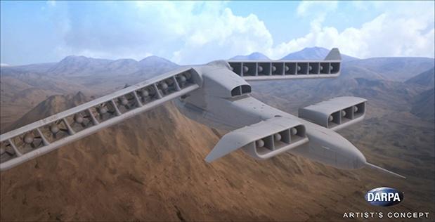 DARPA финансирует новый самолёт вертикального взлёта и посадки - 1