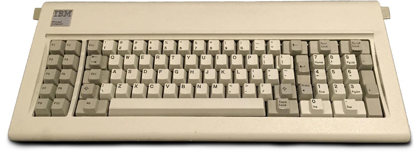 Восстановление классической клавиатуры IBM Model F - 1