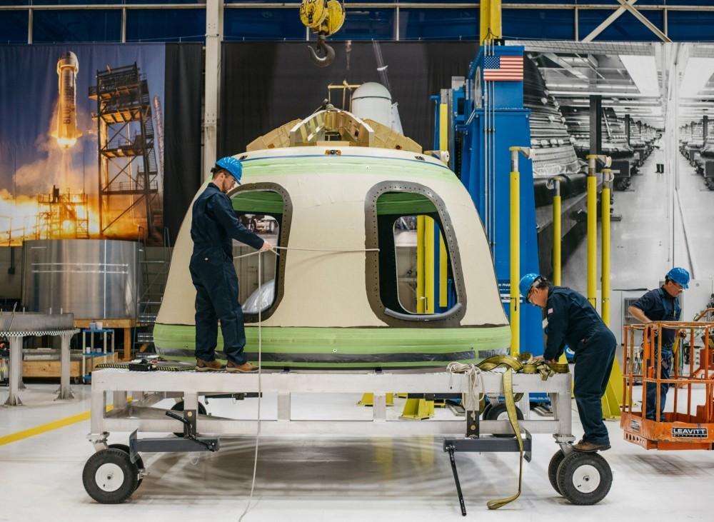 Первая экскурсия по штаб-квартире Blue Origin - 1