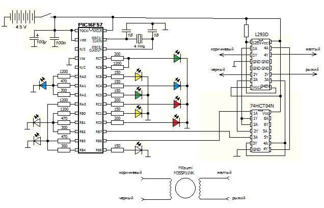Светомузыкальная композиция на микроконтроллере своими руками - 9