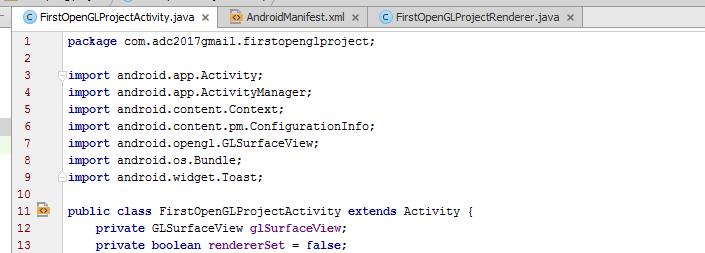Изучаем OpenGL ES2 для Android - 8