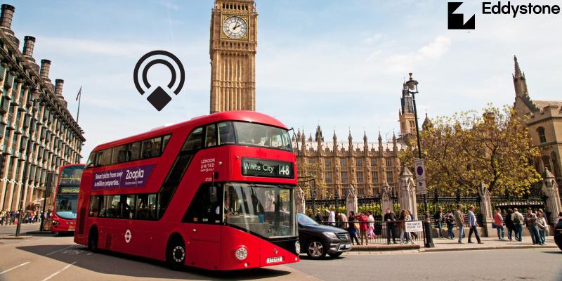 Physical Web в лондонских автобусах - 1