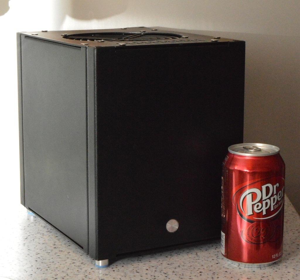Абсолютно бесшумный, компактный безвентиляторный компьютер на полноценном десктопном процессоре. DIY реализация - 1