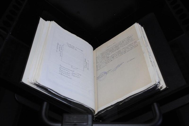Обзор книжного сканера Qidenus SMART book scan 3.0 в Одесском городском архиве - 11