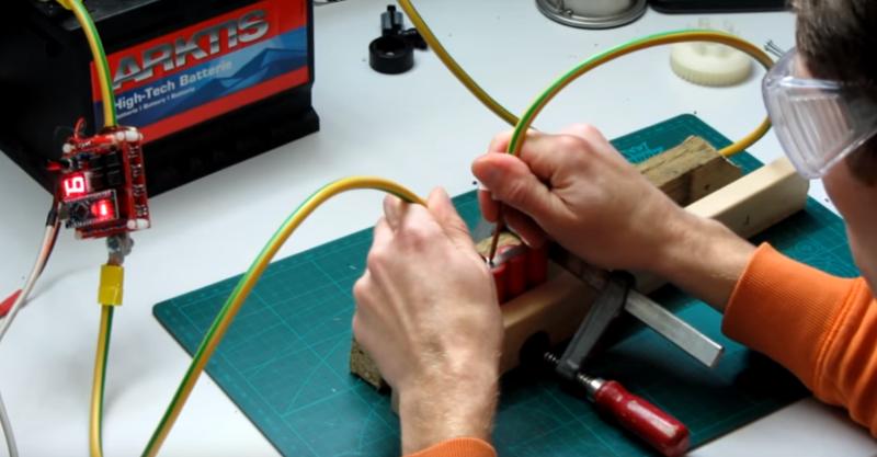 Аппарат для точечной сварки на основе Arduino Nano - 1