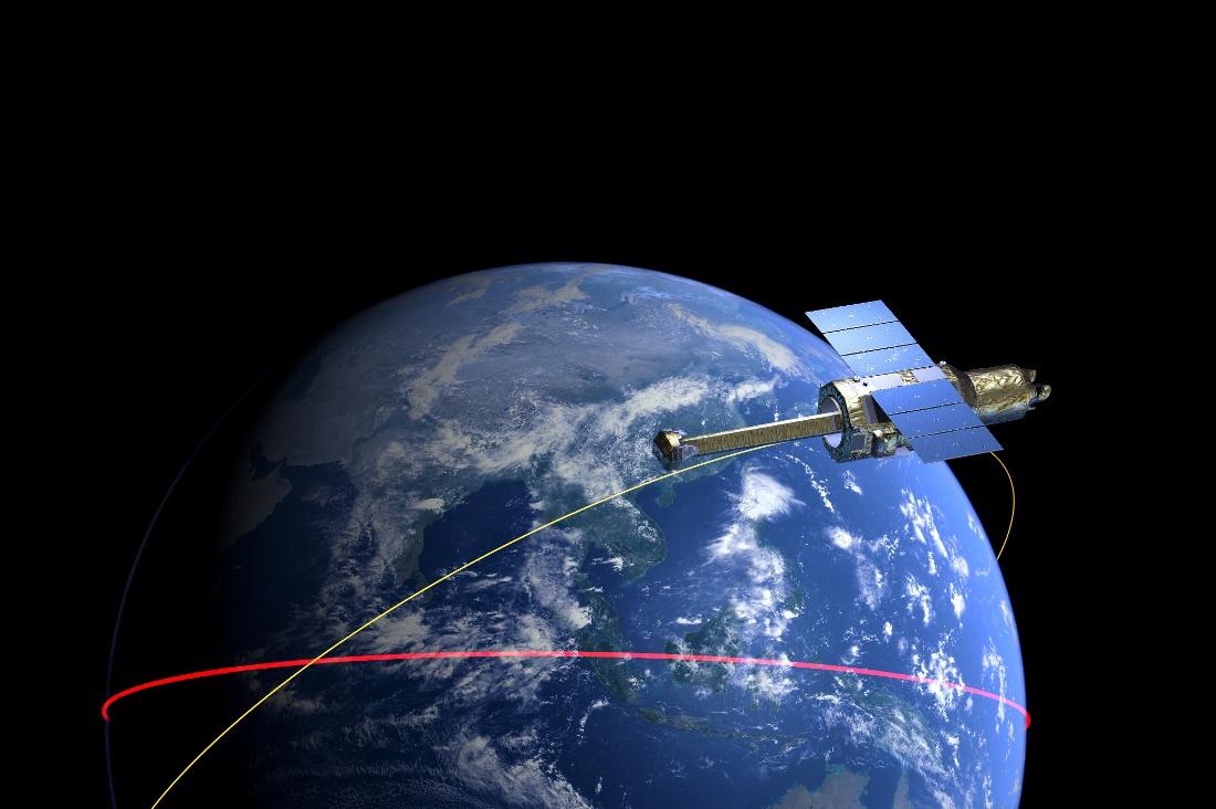 Японский рентгеновский телескоп распался на орбите - 1