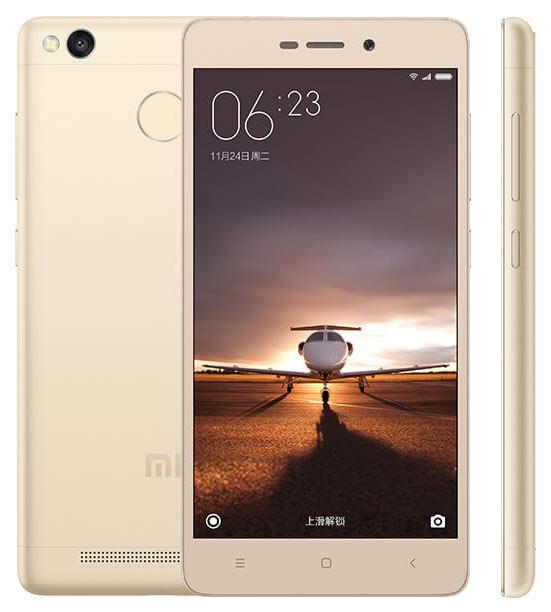 Конфигурация смартфона Xiaomi Redmi 3 Pro включает 3 ГБ оперативной памяти