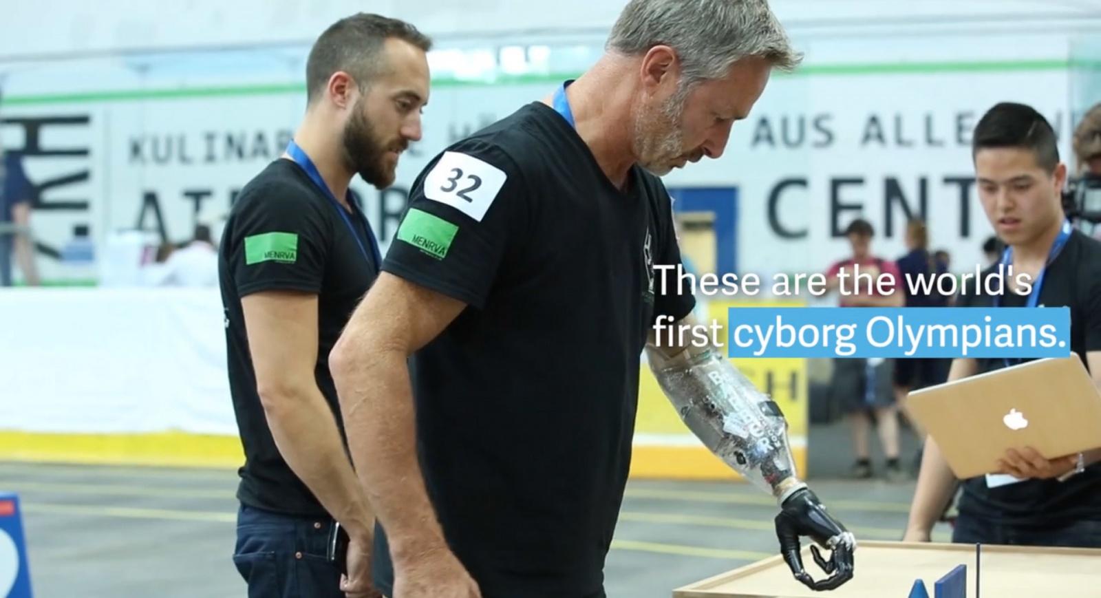Первая Олимпиада для киборгов пройдёт в октябре в Швейцарии - 1