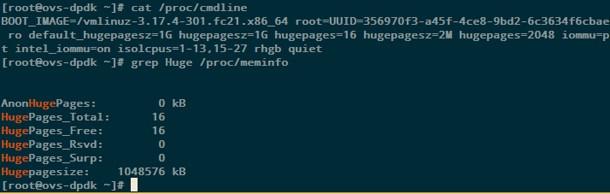 Использование Open vSwitch с DPDK для передачи данных между виртуальными машинами с виртуализацией сетевых функций - 2