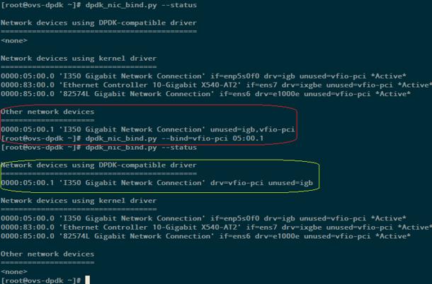 Использование Open vSwitch с DPDK для передачи данных между виртуальными машинами с виртуализацией сетевых функций - 3