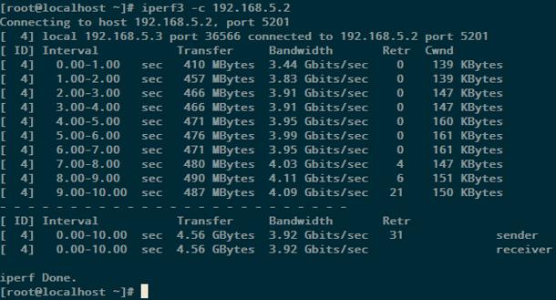 Использование Open vSwitch с DPDK для передачи данных между виртуальными машинами с виртуализацией сетевых функций - 5