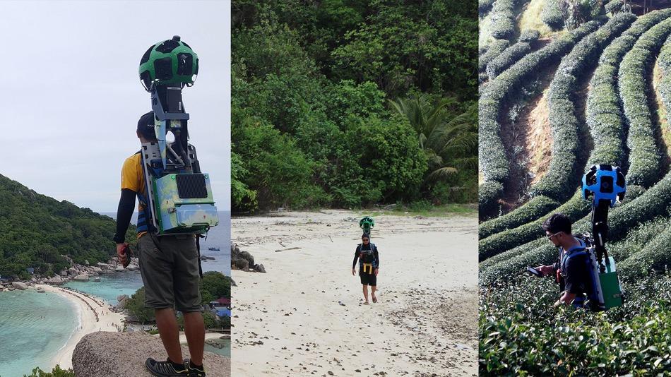 Инженер-триатлонист из команды Google Street View прошел и проехал по Таиланду 500000 км в качестве оператора камеры - 1
